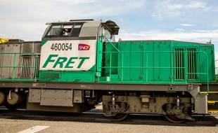 Un train de marchandises (photo d'illustration).