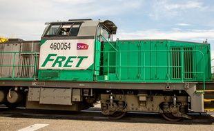Un train de marchandises (photo d'illustration).