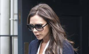 Victoria Beckham à la fashion week de Londres le 18 septembre 2015