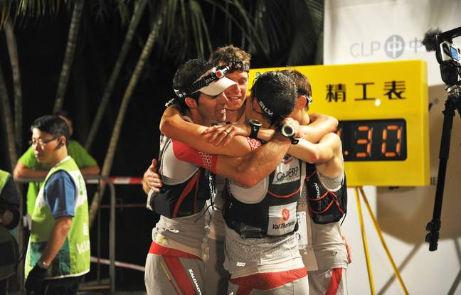 En 2012, Michel Lanne savoure, avec François D'Haene, Julien Chorier etAndy Symonds, un trail de 100 km à Hong Kong jusque-là systématiquement remporté par l'armée chinoise.