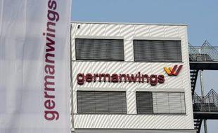 Le siège de la compagnie aérienne allemande Germanwings à Cologne le 24 mars 2015