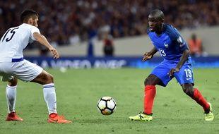 N'Golo Kanté face au Luxembourg, le 3 septembre 2017 au Stadium de Toulouse.
