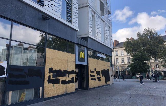 Le Mc Donald's du Carré Feydeau à Nantes