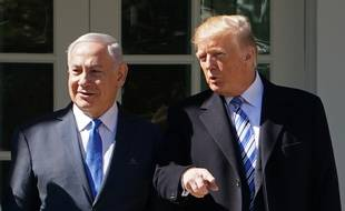 Donald Trump et Benyamin Netanyahou ne tarissent pas d'éloges l'un pour l'autre.