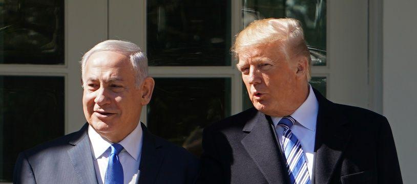 Donald Trump et Benyamin Netanyahou.