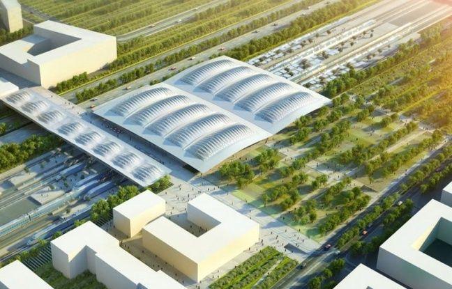 Le projet de gare TGV à la Mogère.