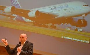 Claude Lelaie, le pilote d'essai du premier vol de l'Airbus A380.