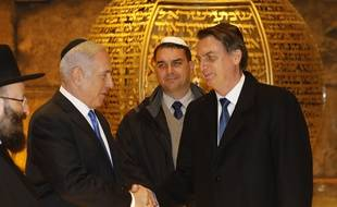jair bolsonaro et Benjamin Netanyahou