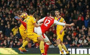 Olivier Giroud a marqué un but extraordinaire le 1er janvier