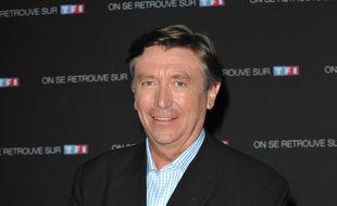 Le présentateur Jacques Legros.