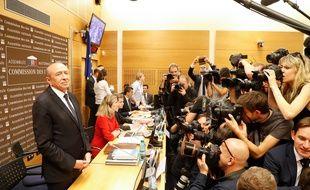 Gérard Collomb à la Commission des lois de l'Assemblée nationale, lundi 23 juillet.