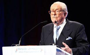 Jean-Marie Le Pen à Marseille, le 20 mai 2014.