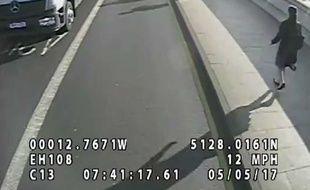 La police londonienne avait dévoilé la vidéo de l'accident.
