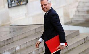 François De Rugy à l'Elysée. AP Photo/François Mori.