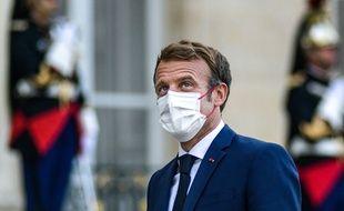 Emmanuel Macron, le 16 septembre 2021 à l'Elysée