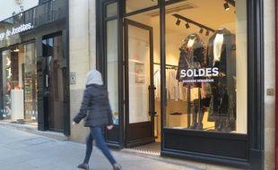 Le 23 janvier 2019. Il fait 4°C à Nantes et cette boutique a gardé ses portes ouvertes