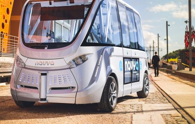 Lyon: Le fondateur de Navya, spécialisé dans la construction de navettes autonomes, débarqué