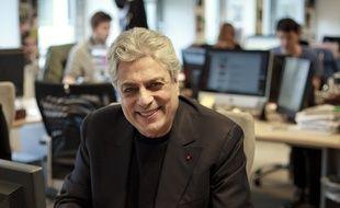 Enrico Macias à la rédaction parisienne de «20 Minutes», le 8 novembre 2012.