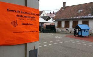 Strasbourg: Des cours de français gratuits proposés aux parents d'élèves d'écoles maternelles