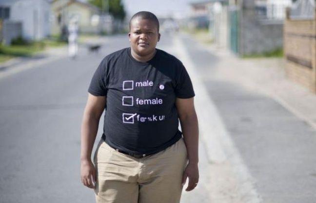 """Likamva Cekiso était encore adolescente quand elle a été violée. Comme de nombreuses lesbiennes des townships sud-africaines, elle a été victime de """"viols correctifs"""", destinés à la convertir à une hétérosexualité jugée plus orthodoxe."""