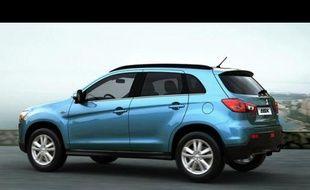 Le Mitsubishi ASX, dont sera inspiré le futur Peugeot 2008.