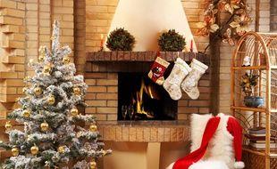 Tout est prêt avant l'arrivée du Père Noël. Il ne manque désormais que les cadeaux.