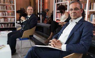 Les candidats Renaud Muselier (LR) et Thierry Mariani (RN) sont au coude à coude pour les élections régionales