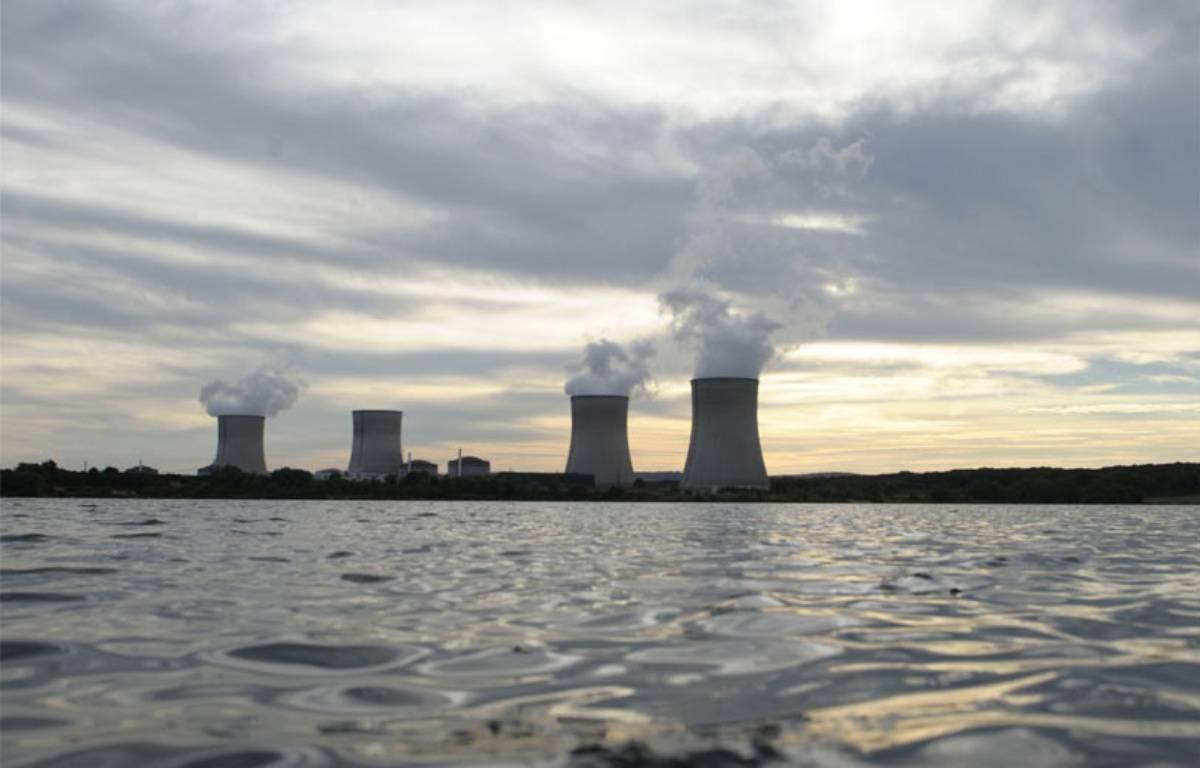 La centrale nucléaire de Cattenom en août 2013. – JEAN-CHRISTOPHE VERHAEGEN / AFP