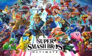 Le jeu «Super Smash Bros. Ultimate» sur Nintendo Switch.