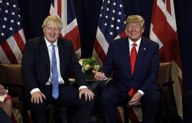 Brexit: Pour Donald Trump, il serait «terrible» que le retrait voulu par Boris Johnson n'ait pas lieu