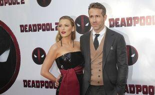Ryan Reynolds et Blake Lively à New York.