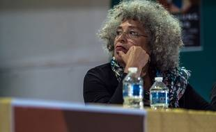 Angela Davis au colloque international Bandung du Nord, le 4 mai 2018