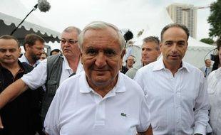 Jean-Pierre Raffarin à Marseille, le 3 septembre 2011, lors du campus d'été de l'UMP.