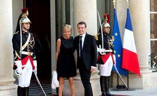 Brigitte et Emmanuel Macron, un couple présidentiel