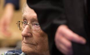L'ancien comptable d'Auschwitz Oskar Gröning.