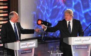 Ken Livingstone et Boris Johnson, les deux candidats à l'élection municipale 2008 à Londres.