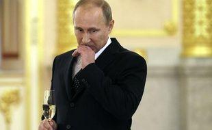 Vladimir Poutine au Kremlin le 23 octobre 2013.