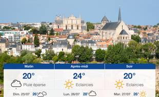 Météo Poitiers: Prévisions du samedi 24 juillet 2021