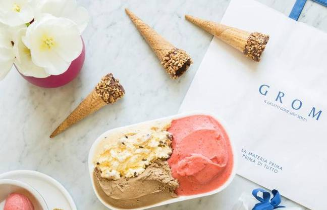 Pot de glace maison GROM, made in Italy