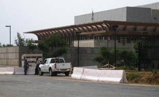 L'ambassade des Etats-unis à Bujumbura, le 6 août 2013