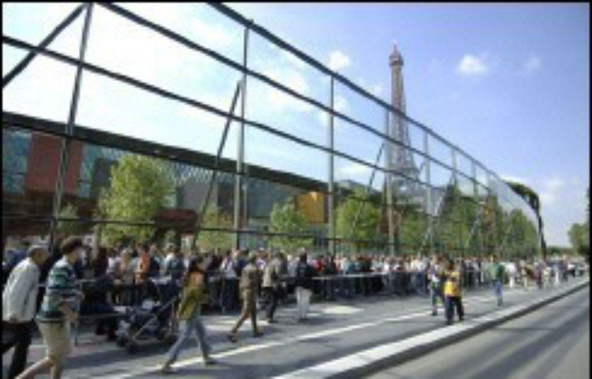 Le musée du quai Branly enregistre une baisse de sa fréquentation de 7%, passant de 1,4 million de visiteurs en 2014 à 1,3 million. – Eric Feferberg AFP/Archives