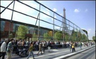 Le musée du quai Branly enregistre une baisse de sa fréquentation de 7%, passant de 1,4 million de visiteurs en 2014 à 1,3 million.