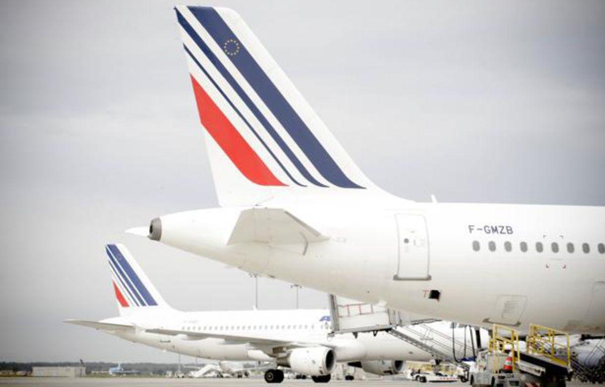 Illustration: Queues d'avions Air France à l'aéroport Toulouse-Blagnac. – FRED SCHEIBER / 20 MINUTES