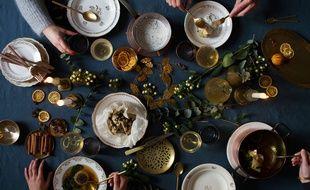 La photo en couverture du livre d'Angèle Ferreux-Maeght et Romain Meder, Fêtes végétales