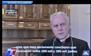"""L'Argentine a donné jeudi dix jours à l'évêque britannique Richard Williamson pour quitter le pays, soulignant que ses thèses négationnistes """"heurtaient profondément la société argentine, le peuple juif et l'humanité""""."""