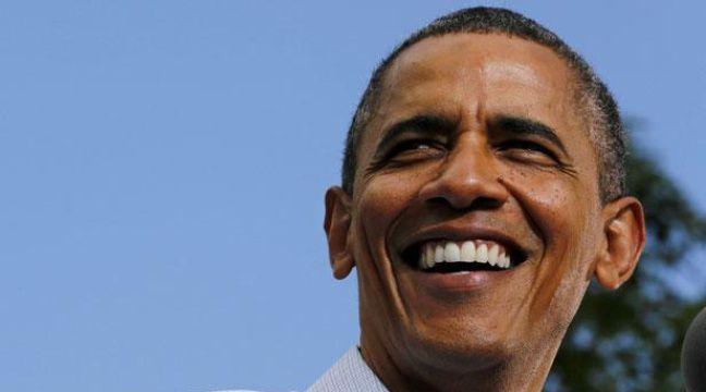 Le président américain, Barack Obama, lors d'une visite à l'université du Colorado (Etats-Unis), le 2 septembre 2012. – L.DOWNING / REUTERS