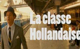 Capture d'écran de la vidéo La Classe hollandaise par l'équipe du PS.