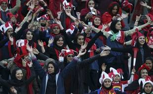 Un millier de femmes ont été autorisées à assister à la finale de la Ligue des champions asiatique, samedi 10 novembre.