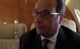 François Hollande sur France 5.