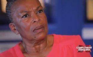 Christiane Taubira dans «Complément d'enquête» diffusé le 5 octobre 2017 sur France 2.